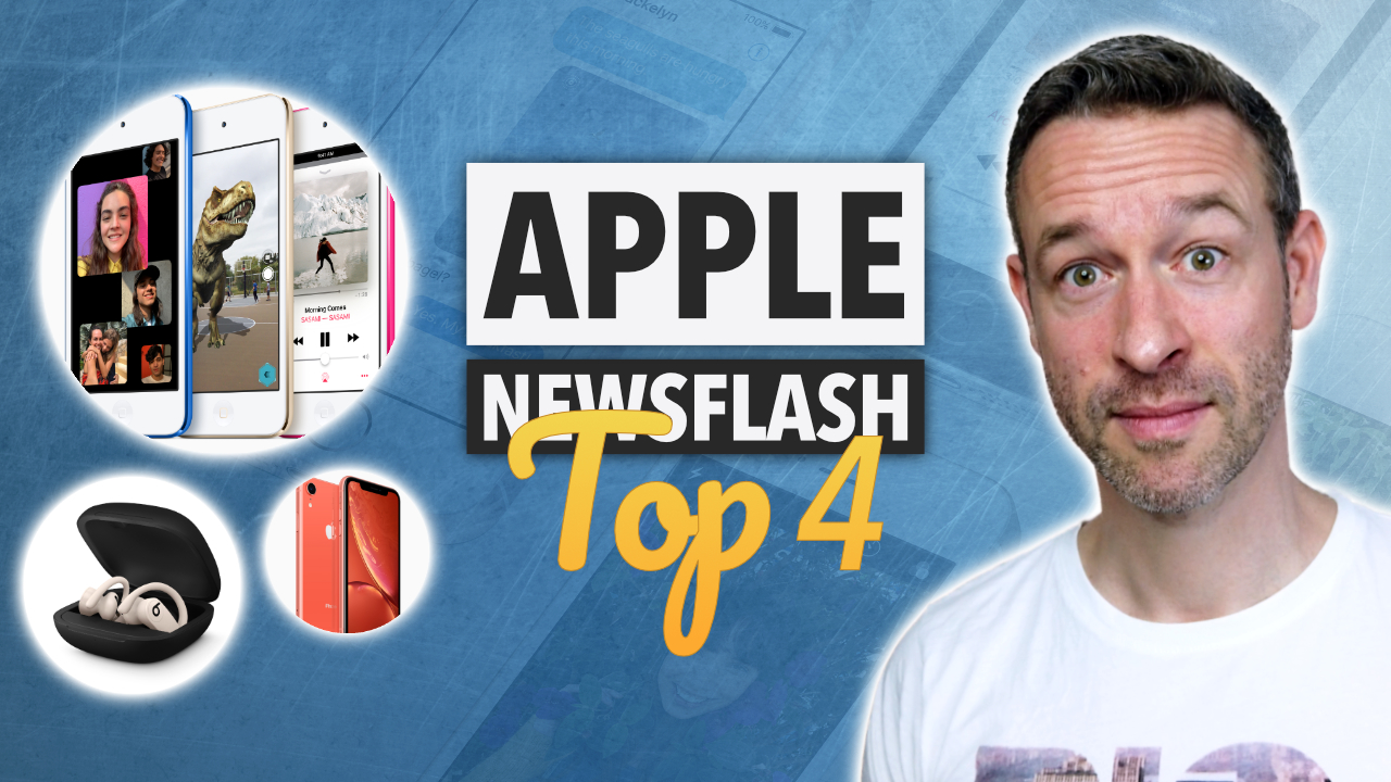 APPLE NEWS DER WOCHE: iPhone SE 2, iOS 13 Leaks, iPod touch 2019 & mehr