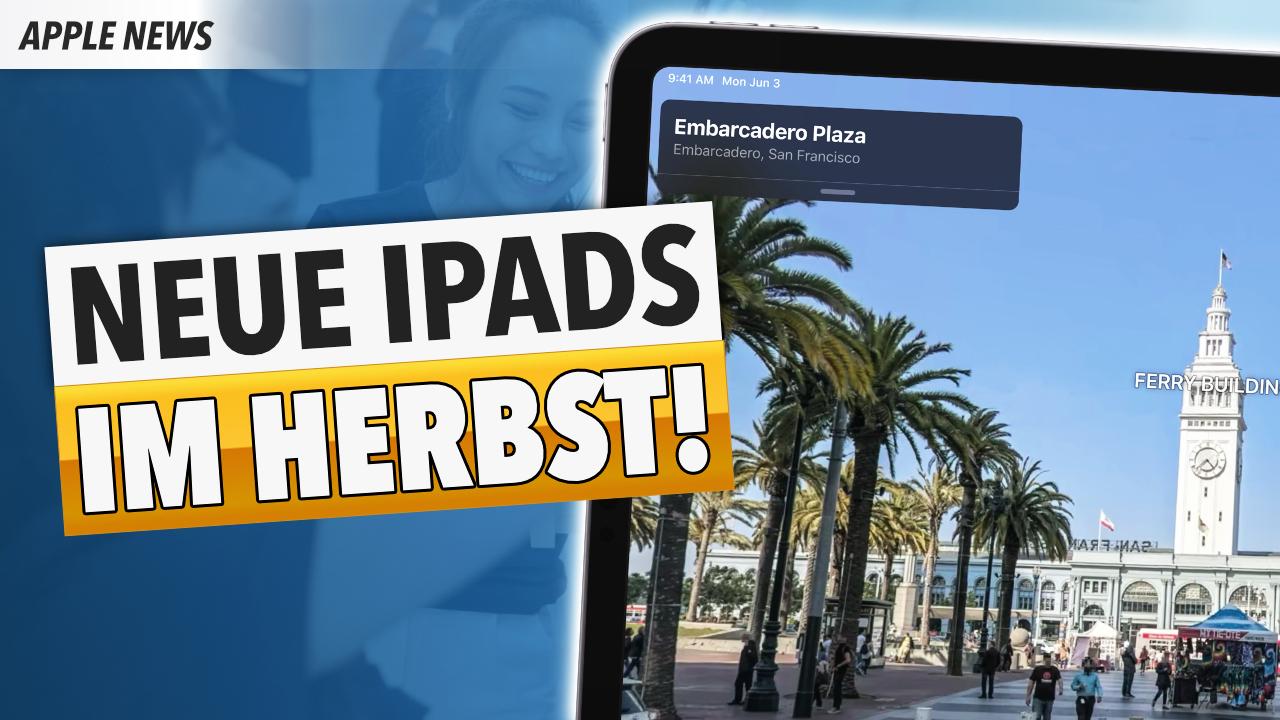 5 neue iPads und ein 16″ MacBook Pro im Herbst!