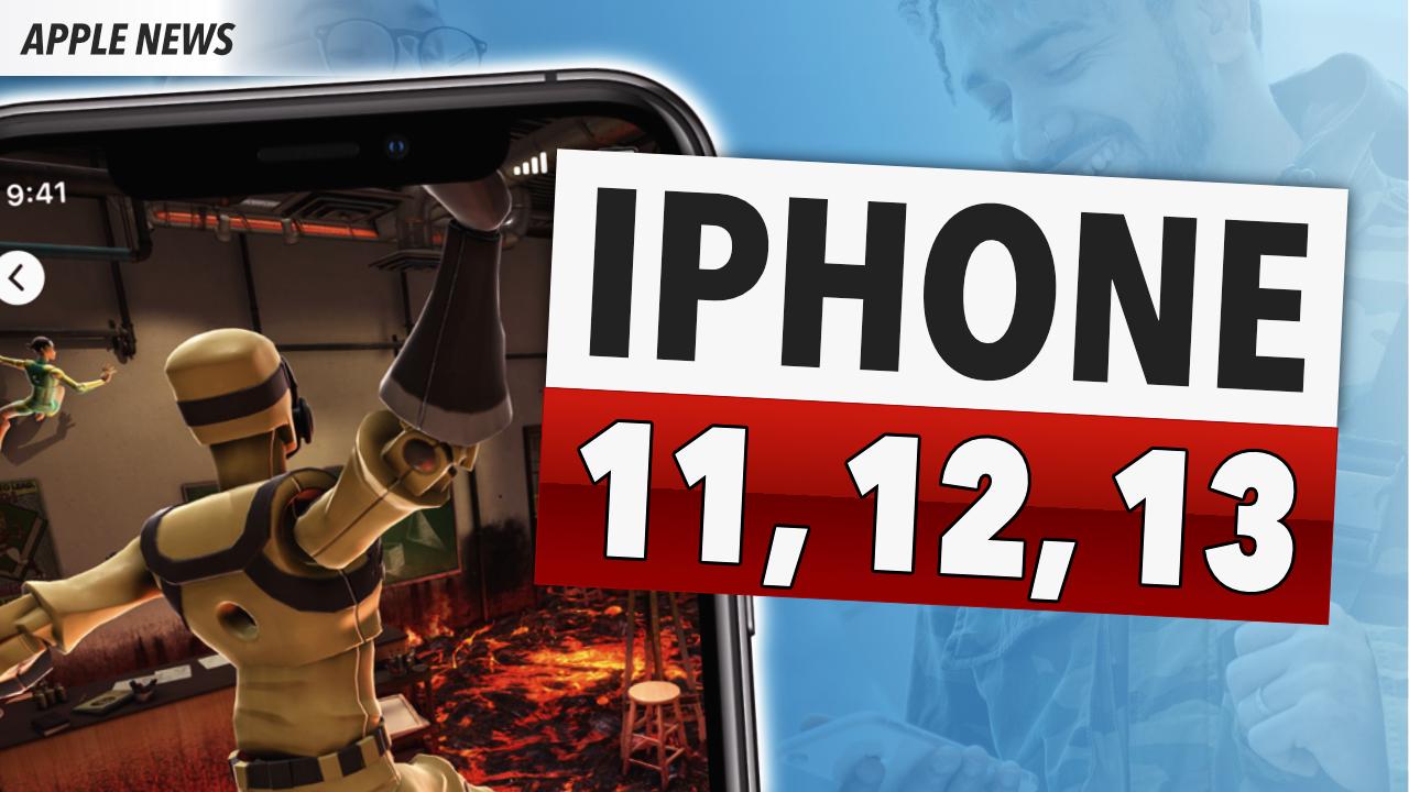 NEUE GERÜCHTE zu iPhone 11, 12 und 13!