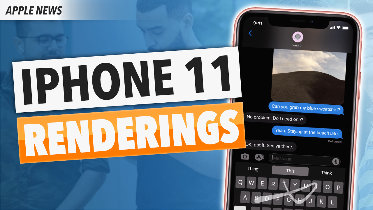 iPhone 11: Neue CAD Renderings