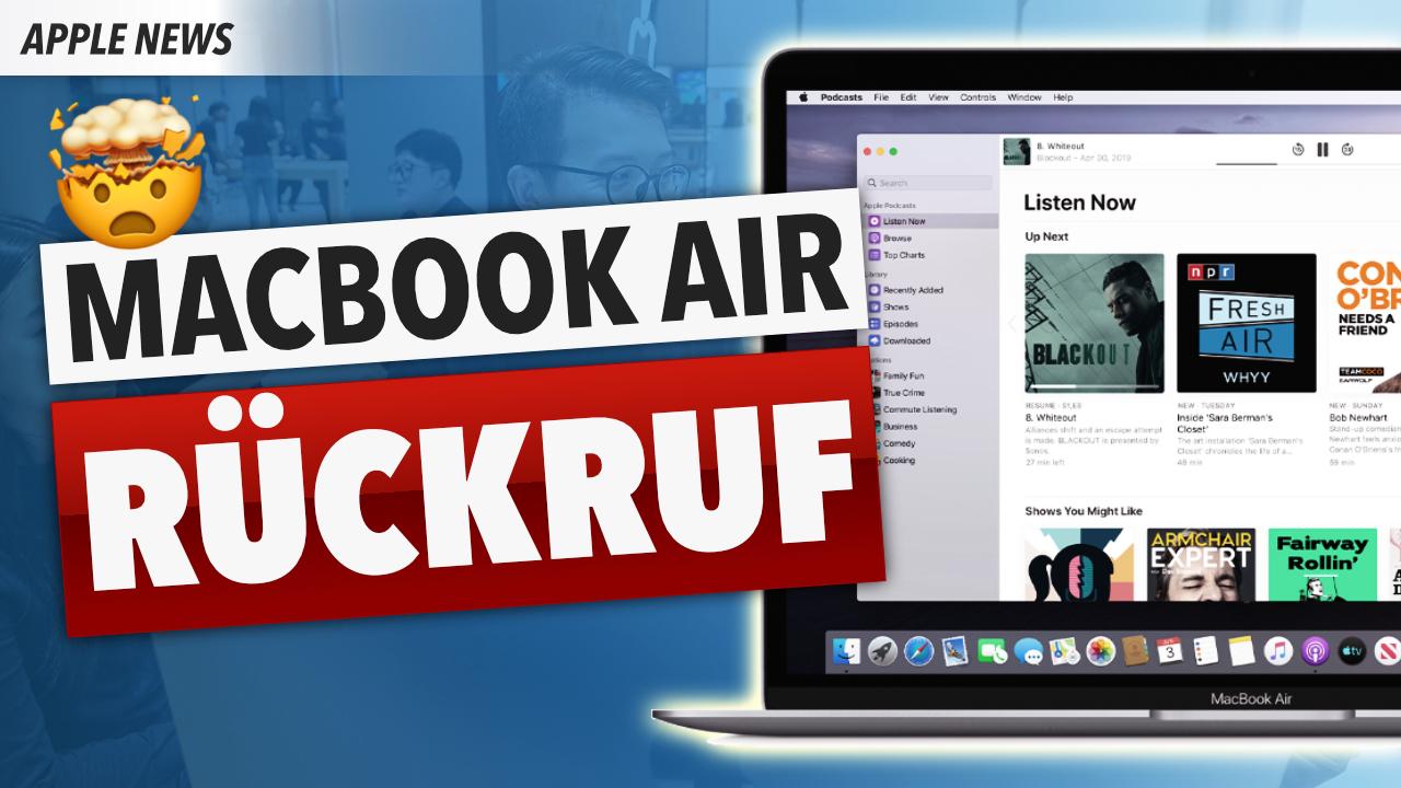 MacBook Air 2018: Kostenlose Reparatur!