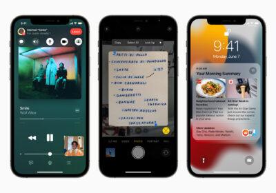 iPhone 13 mit ProRes für Videos, ProMotion Displays, Portraitmodus für Video und kleinerer Notch